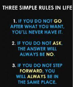 3 Rules #motivation #inspiration #quote #quoteoftheday #mondaymotivation #success #socialselling #business #mompreneur #bossmom #boss #momboss #mom #dontquit #lifebydesign #mindset #makethatmoney #giveback #givevalue #bekind #valuableinformation