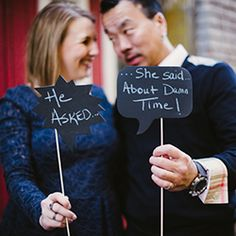 A downtown Denver engagement session with a touch of humor and fabulous urban backdrops.