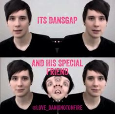 Dan and Phil PhotoBooth Challenge I nearly died laughing at that part XD