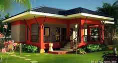10 + Stunning Modern House Exterior Design and Plans Ideas - myhomeorganic Modern Small House Design, Simple House Design, Cool House Designs, Interior Design Philippines, Philippines House Design, Modern Bungalow House, Bungalow House Plans, 3d Home, H & M Home