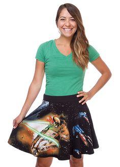 Star Wars Fighter Scene Skirt - Exclusive