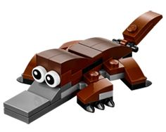 FREE LEGO Platypus Model at LEGO on 3/7 and 3/8 on http://hunt4freebies.com