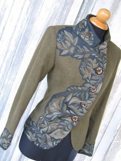 Indalia Fashion - Asian and Italian fabrics combined with Italian tailoring Oh I love this