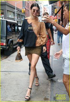 548bbf2deb35 Kendall Jenner wearing Louis Vuitton Monogram Alma Bb Bag