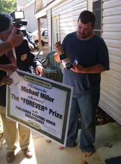 August 2013 PCH's newest Millionaire Michael Miller !