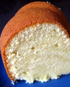 Cream Cheese Pound Cake | FoodGaZm..