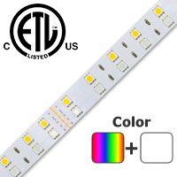 ColorPro RGB + Daylight White LED Strip
