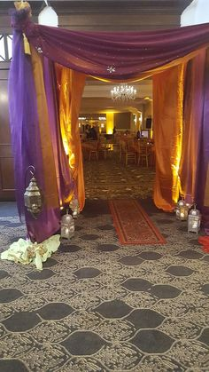Arabian Nights Prom, Arabian Nights Theme, Arabian Theme, Arabian Party, Aladdin Birthday Party, Aladdin Party, Indian Party Themes, Indian Theme, Moroccan Party