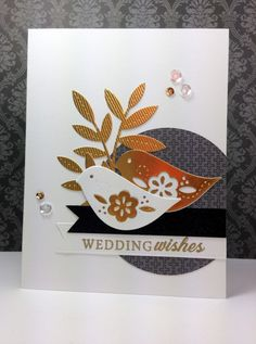 Songbirds; PTI by beesmom - Cards and Paper Crafts at Splitcoaststampers