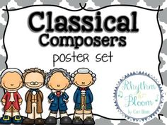 Classical Composers Poster Set