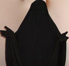 Muslimah Pearl in Purdah