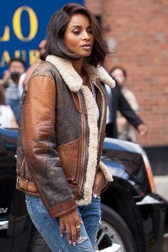 FASHION WEEK'S FINEST Ciara attends New York Fashion Week Spring 2016.