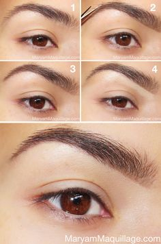How to do the perfect brows