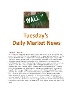 3-11-14 Daily Market News.