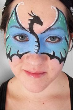 dragon mask face painting - Buscar con Google