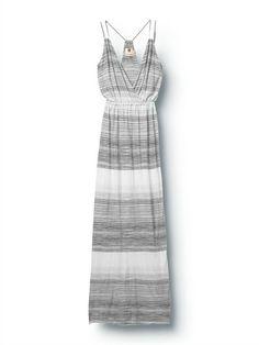 SLAQSW Heat Wave Stripe Maxi Dress by Quiksilver - FRT1