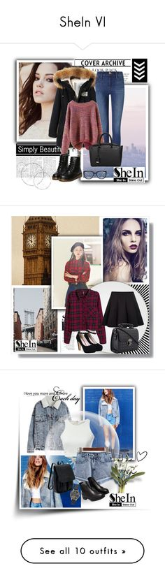 """""""SheIn VI"""" by nermina-okanovic ❤ liked on Polyvore featuring Nearly Natural, Chanel, New Growth Designs, Arche, OKA and vintage"""