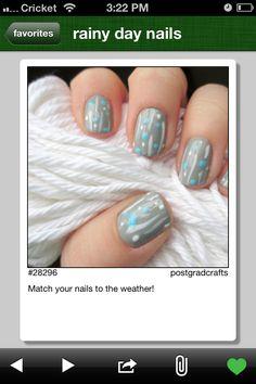 Cute, easy, nails