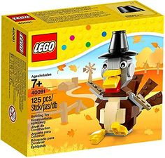 LEGO Thanksgiving Turkey, 40091, 125 Pieces LEGO http://www.amazon.com/dp/B00O4HIRV4/ref=cm_sw_r_pi_dp_rgzCub0VFERF1