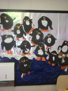 Penguin Display, classroom display, class display, weather, winter, Penguin, ice, cold, freezing, snow, Early Years (EYFS), KS1 & KS2 Primary Resources