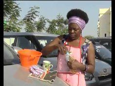 Dina Simão ensina a limpar vidro de carro com produtos caseiros | TV Zimbo | - YouTube