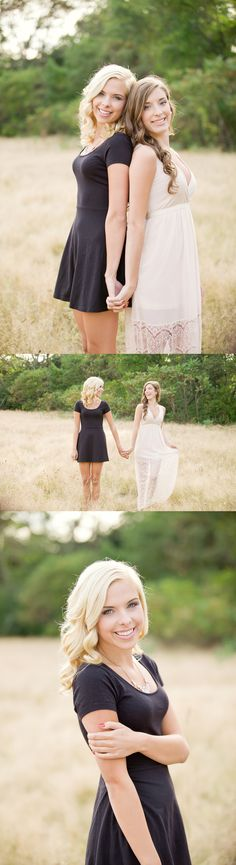 Best Photography Ideas For Friends Sisters Photoshoot Senior Pictures Ideas Sister Photography, Best Friend Photography, Photography Women, Senior Photography, Amazing Photography, Portrait Photography, Photography Ideas, Twin Senior Pictures, Friend Senior Pictures