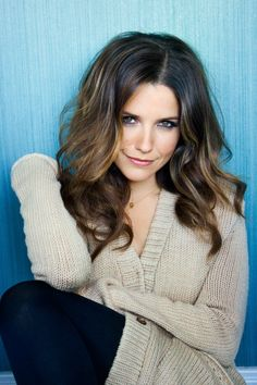 sophia bush hair color