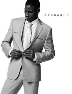 SEAN JOHN I usually don't wear 2-3 button suits but I'd wear this one
