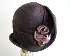 Brown Straw Hat Spring Fashion Women by katarinacouture on Etsy, $128.00