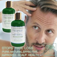 Sinks full of hair? 3 steps to slow and grow your hair naturally! Hair Growth Botanical System Clove Leaf & Moringa💜 Check out Botanical Hair Recovery System at our website ➡ www.hairbodymind.com 20% OFF with coupon 20EXTRA 💜 ➡Click a link in a bio 🤗🌿🌿 Great hair starts with all natural and botanical hair care products! We believe that outstanding product MUST include only the best ingredients!🌿🌿#hairstyles #hairtreatment #healthy #hairbodymind #clove #men #rosemary