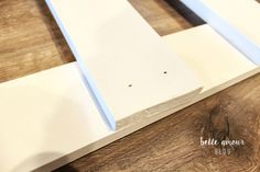 Simple Custom DIY Baby Gate - Belle Amour BlogBelle Amour Blog Diy Dog Gate, Diy Baby Gate, Baby Gates, Dog Gates, Baby Gate For Stairs, Barn Door Baby Gate, Stair Gate, Budget Kitchen Remodel, Kitchen On A Budget