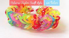 Pulsera de gomitas Taylor Swift Style.Bracelet Taylor Swift Style http://manualidades.euroresidentes.com/2014/04/pulsera-de-gomitas-taylor-swift-style.html
