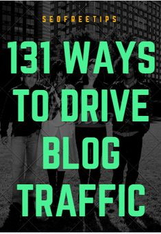 Today You are are going to learn 101 working methods to increase website traffic fast and for free.  These are very simple techniques which YOU can use right now.