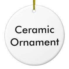 Create Your Own Customize Photo Template Design Ceramic Ornament - create your own gifts personalize cyo custom