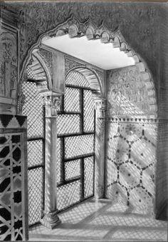 Alhambra por jezulini-del-pepino - Paisajes | Dibujando.net