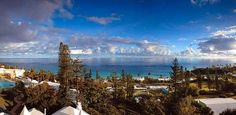 View from the incomparable Elbow Beach Hotel Bermuda. Pin provided by Elbow Beach Cycles http://www.elbowbeachcycles.com