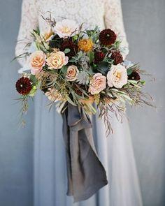 Wedding bouquet idea; Featured Photographer: This Modern Romance