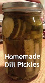 how to make dill pickles http://texastitos.com