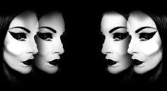 Diamanda Galas Diamanda Galas, Goth Music, Aesthetic Collage, Back To Black, Character Shoes, Grunge, Halloween Face Makeup, Waves, Punk