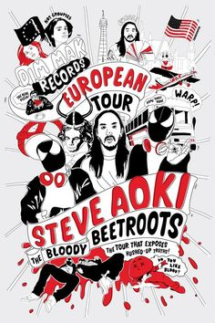 Steve Aoki X The Bloody Beetroots