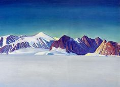 Blue Day, Greenland. #Rockwell Kent.