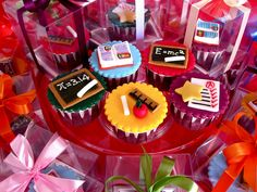 Teachers Day cupcakes   Flickr - Photo Sharing!
