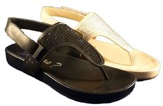 Thong sandals by Guess