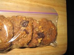 Daniel Fast Peanut Butter Oatmeal Raisin Cookies Recipe via @SparkPeople