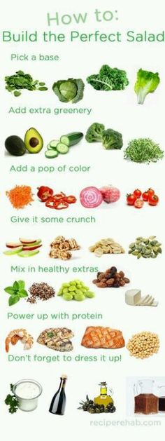 How to build the perfect salad