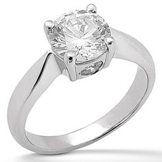 Power in simplicity! Taryn Collection Diamond Engagement Ring TQD 482 for about $1,095