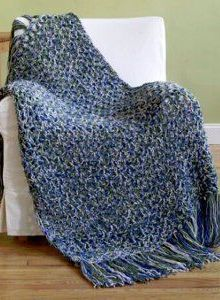 6 Hours or Less Crochet Throw Pattern
