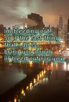 Imagine dragons bleeding out