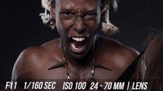 Behind the Scenes of a Zulu Warrior Photo Shoot