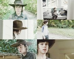 "Carl Grimes 4x09 ""After"""